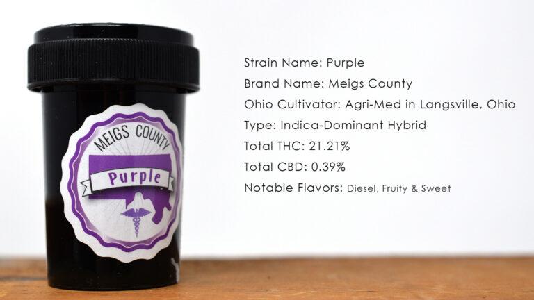 Purple Strain Bottle