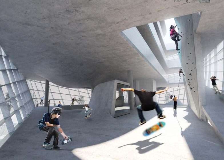 Multi-Story Skatepark 3
