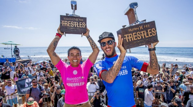 Brazilians Win Big at the 2017 Hurley Pro Trestles!