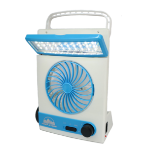 Solar Fan - MultiFunction (LED Torch, Lamp, Fan)