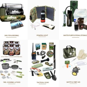 Elite Plus Ready Backpack - Emergency Pack / Hurricane Emergency Kit / Bug Out Bag With Food