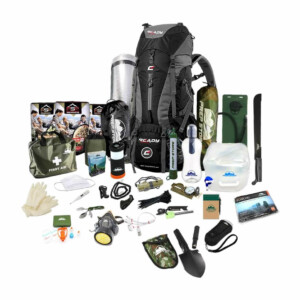 Quick Plus Ready Backpack - Emergency Pack / Hurricane Emergency Kit / Bug Out Bag With Food