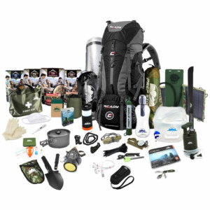 Ultimate Ready Backpack - Emergency Pack / Hurricane Emergency Kit / Bug Out Bag With Food
