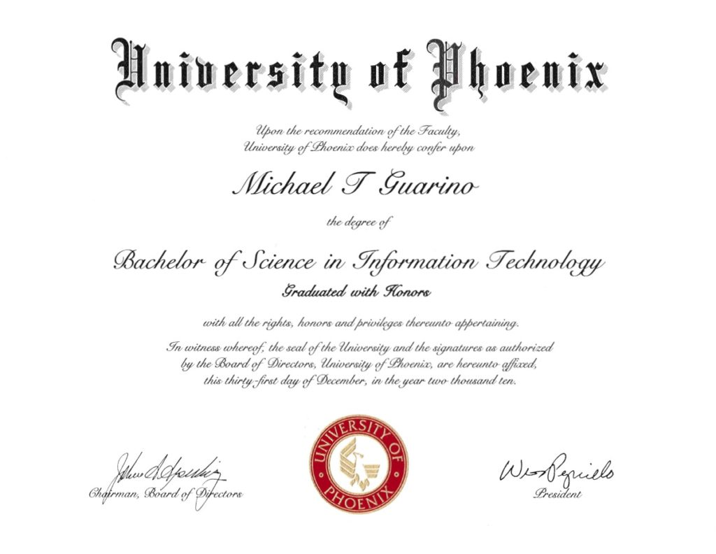 UofP Diploma