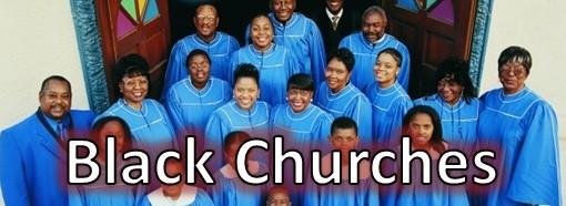Black Churches in the Dallas Area