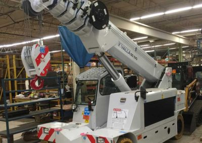 Valla 120EVO - Electric Pick & Carry Crane