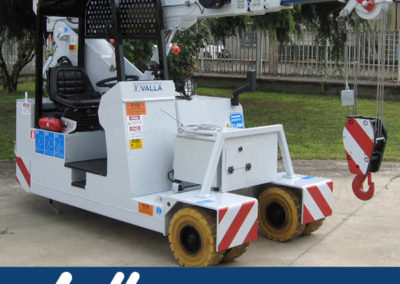 Valla 50E - 11,000 lb Capacity - 12,000  lb Weight