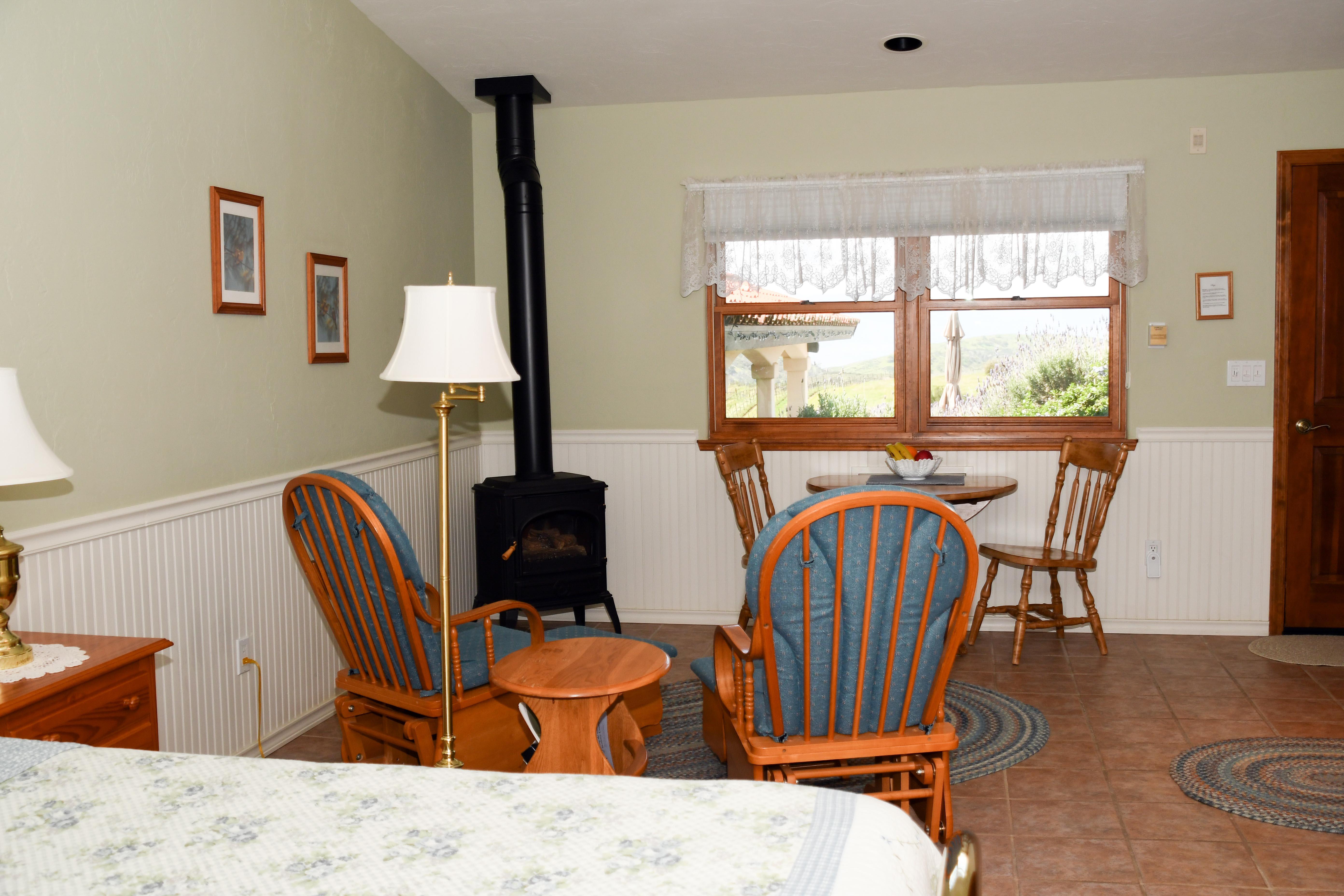Sage Room Dining 1 | Luxury Bed and Breakfast Inn