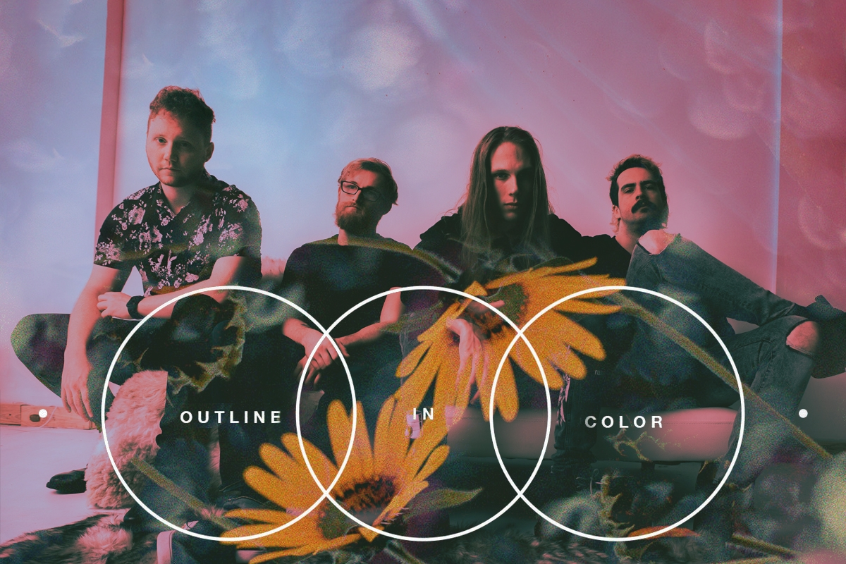 """EXCLUSIVE: """"WE RECORDED AN EVANESCENCE COVER""""- OUTLINE IN COLOR DISCUSS NEW EP AND THEIR DECADE-LONG CAREER"""