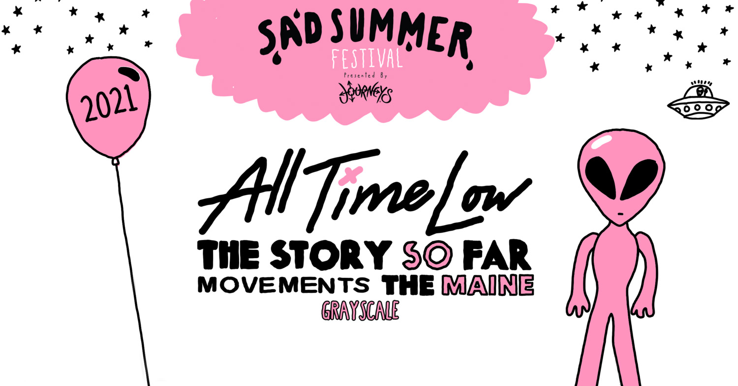 SAD SUMMER FEST ANNOUNCE RESCHEDULED 2021 FESTIVAL DATES