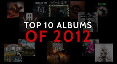 Top 10 Albums of 2012 calibertv