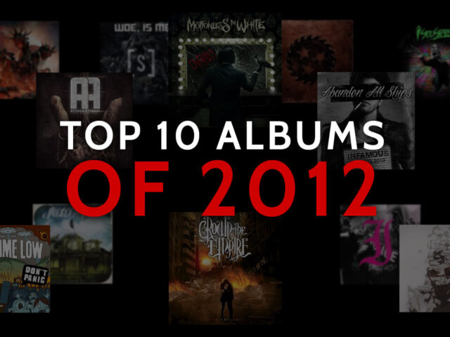 TOP ALBUMS OF THE 10S: 2012