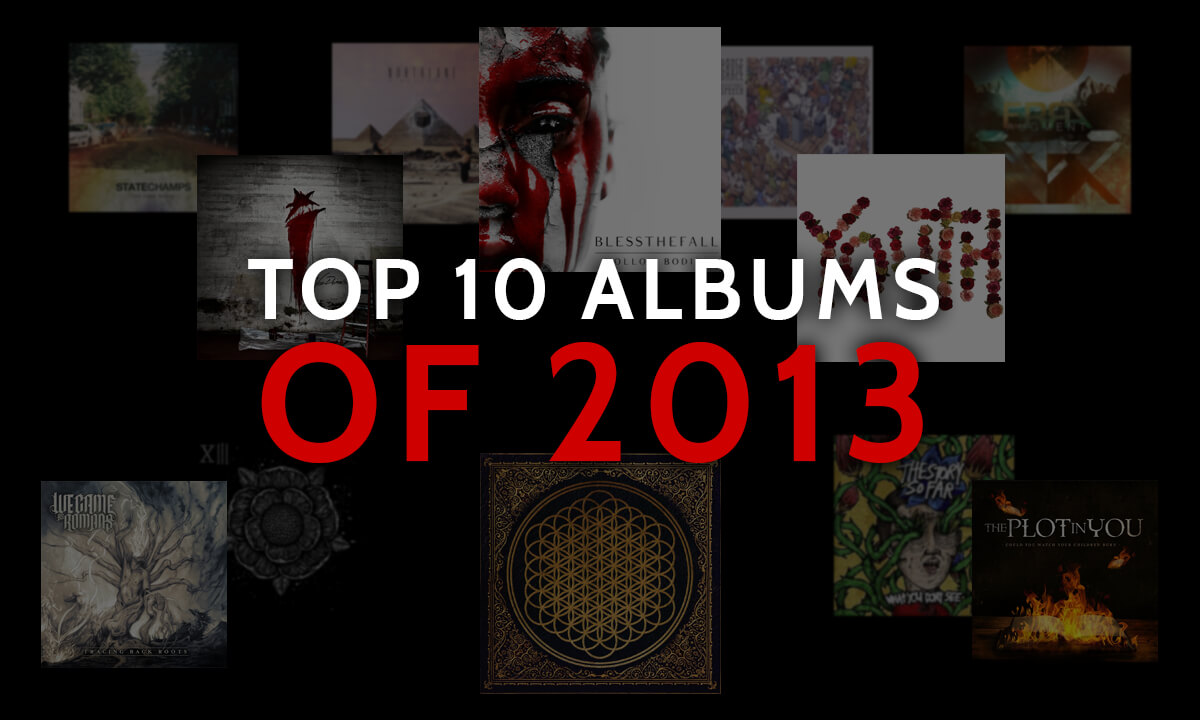 TOP ALBUMS OF THE 10S: 2013