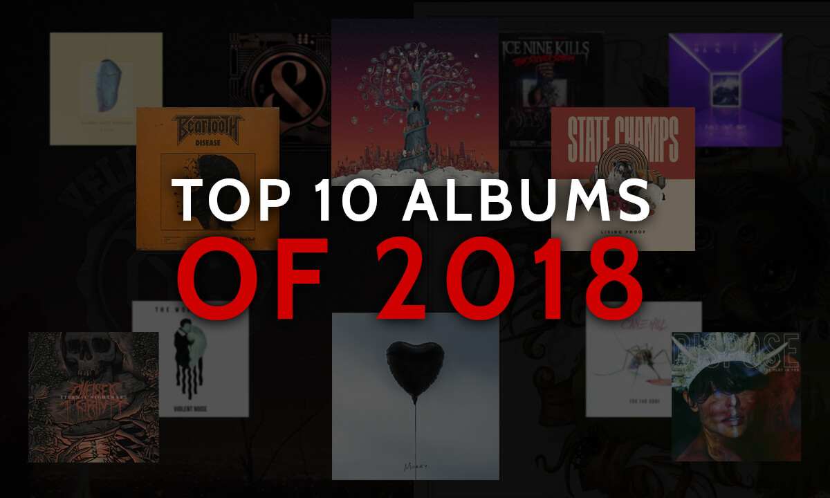 TOP ALBUMS OF THE 10S: 2018