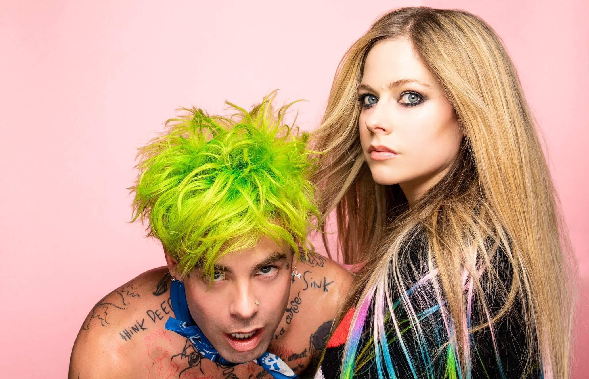 "MOD SUN & AVRIL LAVIGNE RELEASE POWERFUL NEW SINGLE ""FLAMES"""