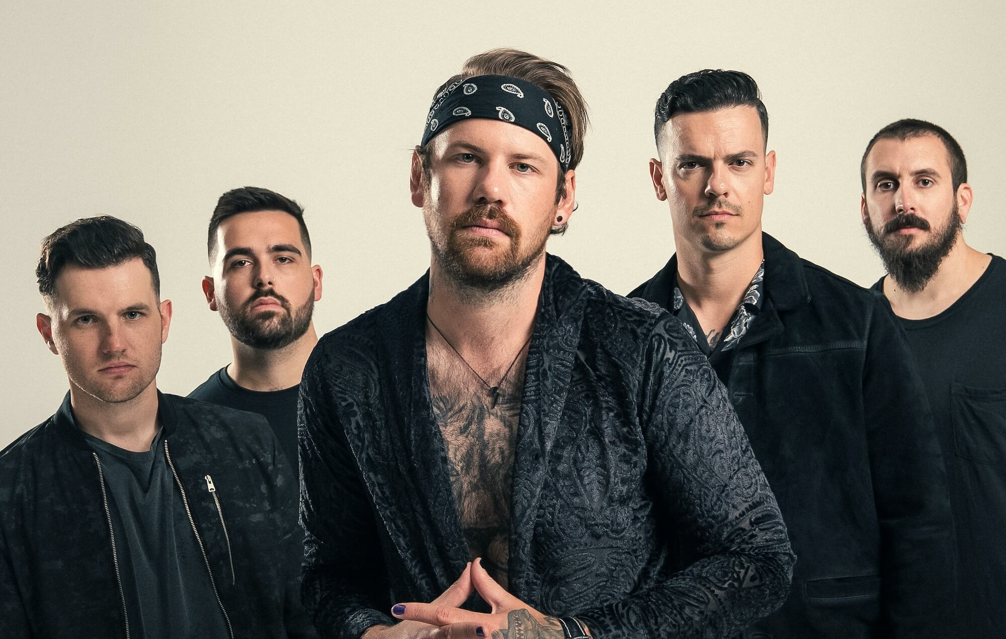 BEARTOOTH RELEASE THEIR NEW SINGLE 'FED UP'