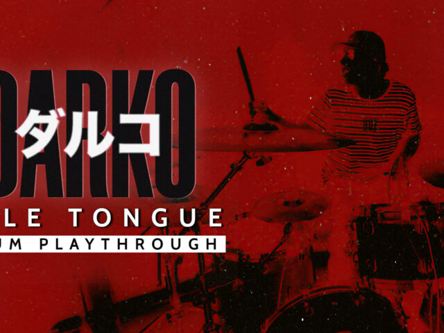 "DARKO (US) RELEASE ""PALE TONGUE"" DRUM PLAYTHROUGH; TO RELEASE SELF-TITLED ALBUM"