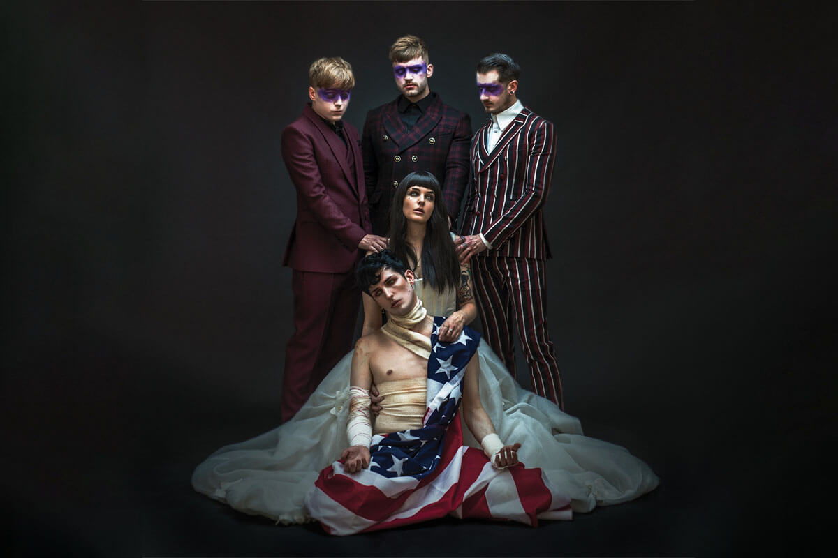 """CREEPER ANNOUNCE NEW EP 'AMERICAN NOIR'; RELEASE NEW SINGLE """"MIDNIGHT"""""""