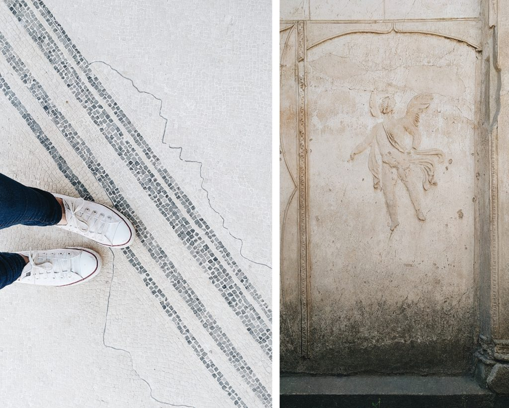 Pompeii and my Converse!