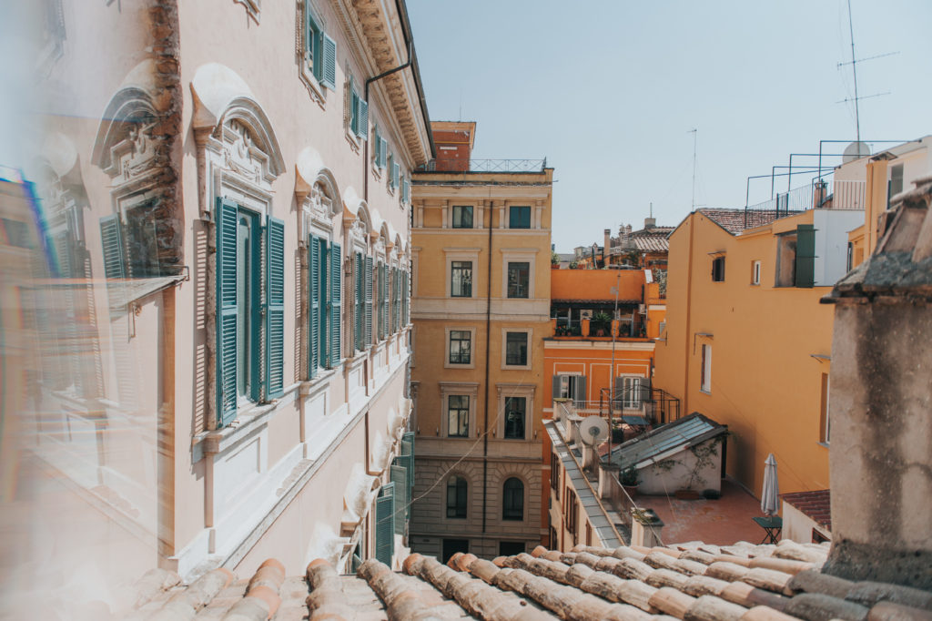 Airbnb in Rome, Italy