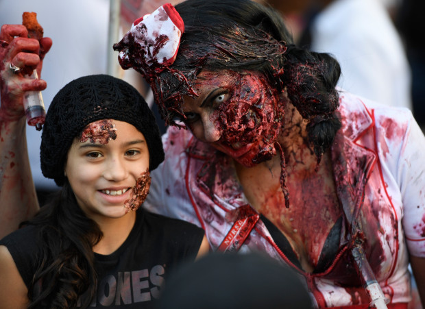 Zombie Nurse with lots of gore