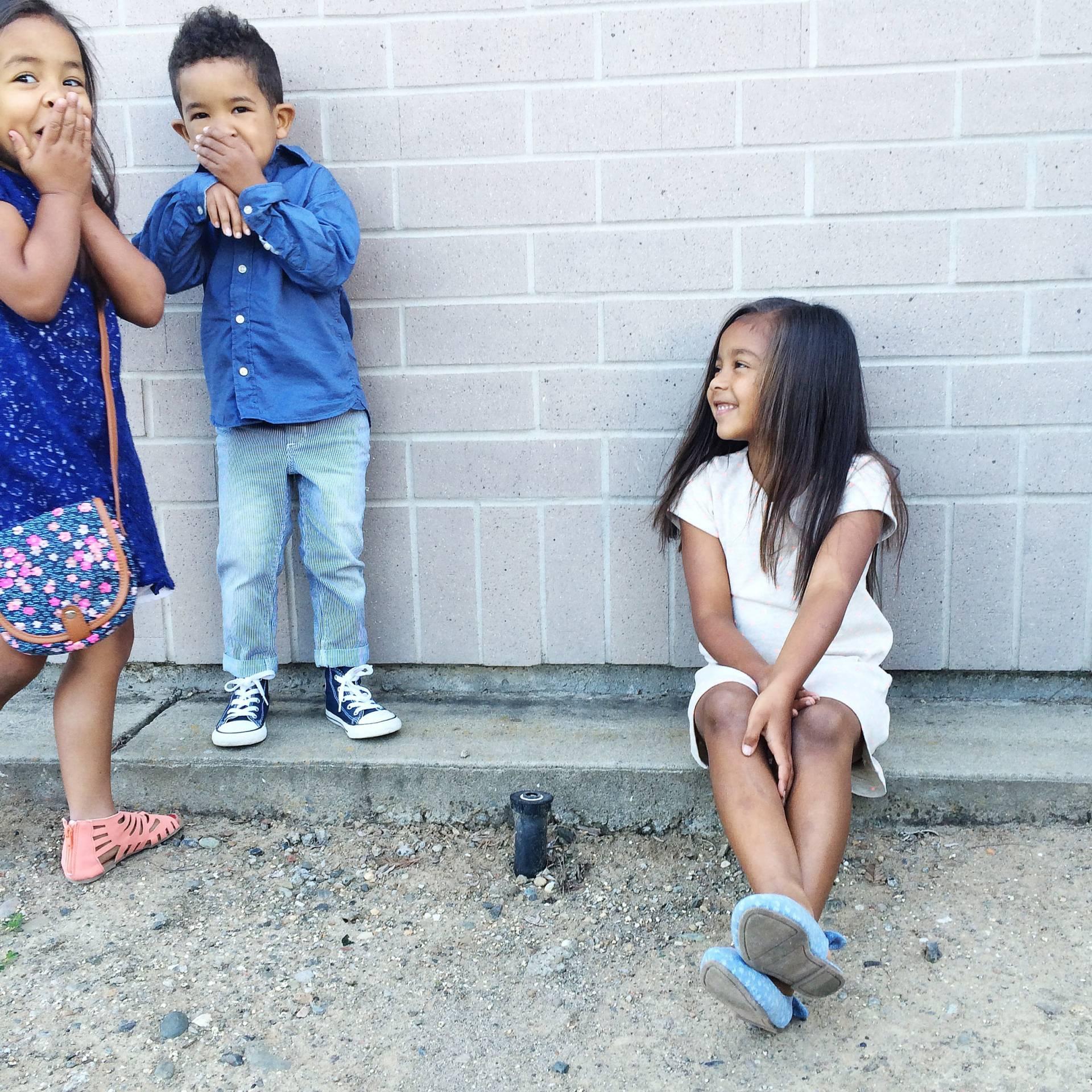 Easter Sunday Best: Three kids