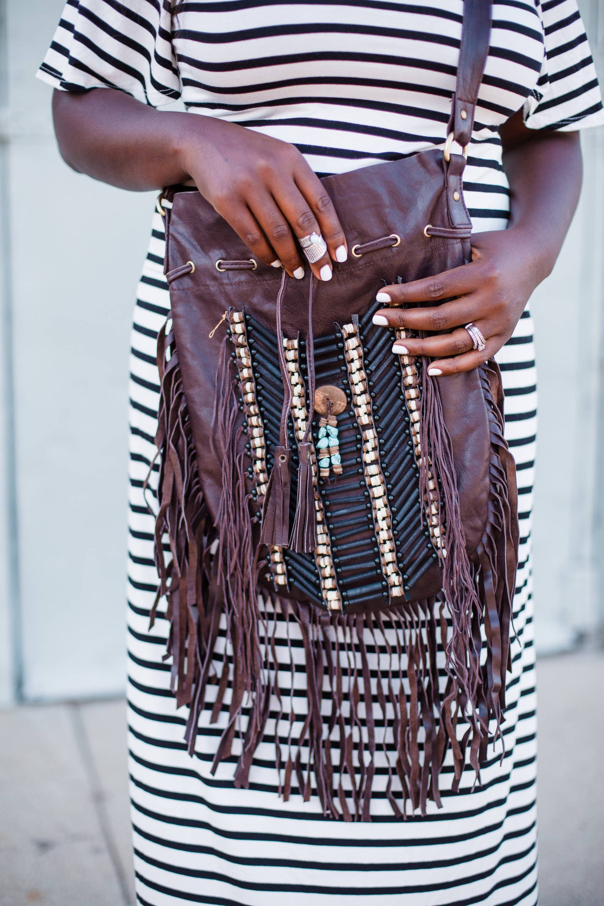 stripes-fringe- boho bags