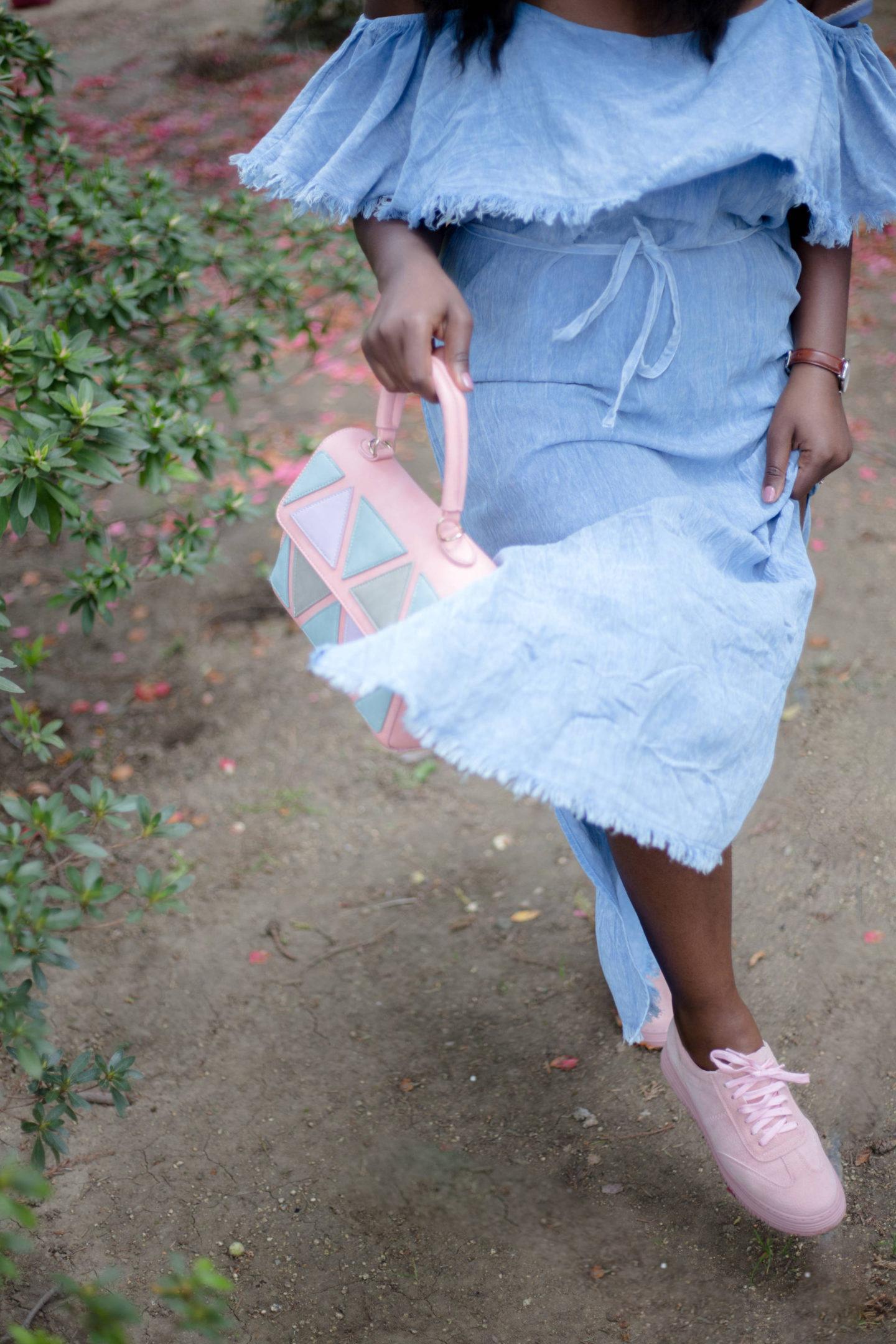 off-shoulder-dresses-shop-pink-blush- running