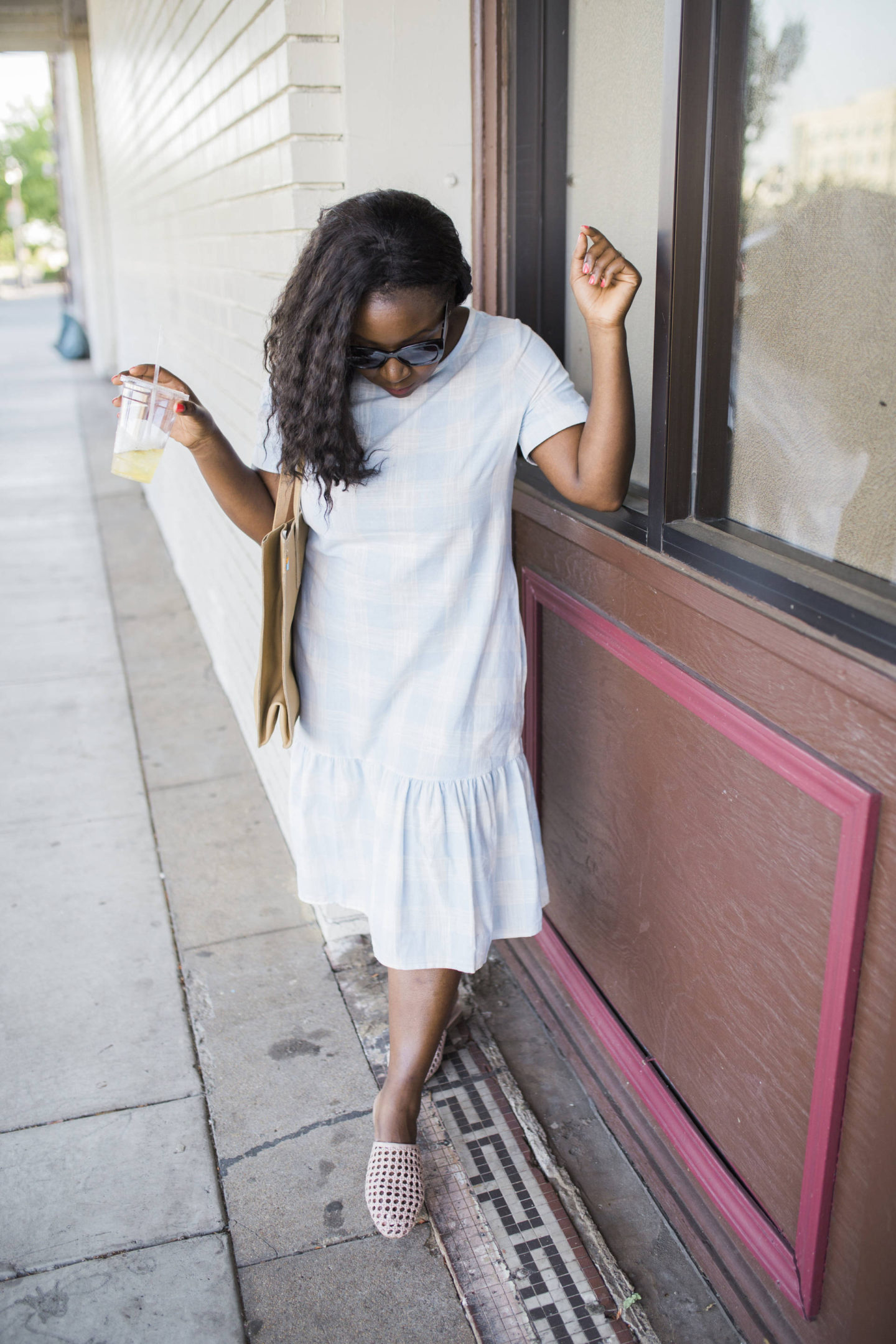 5-ways-overcome-fear+ Beautiful drop hem dress!