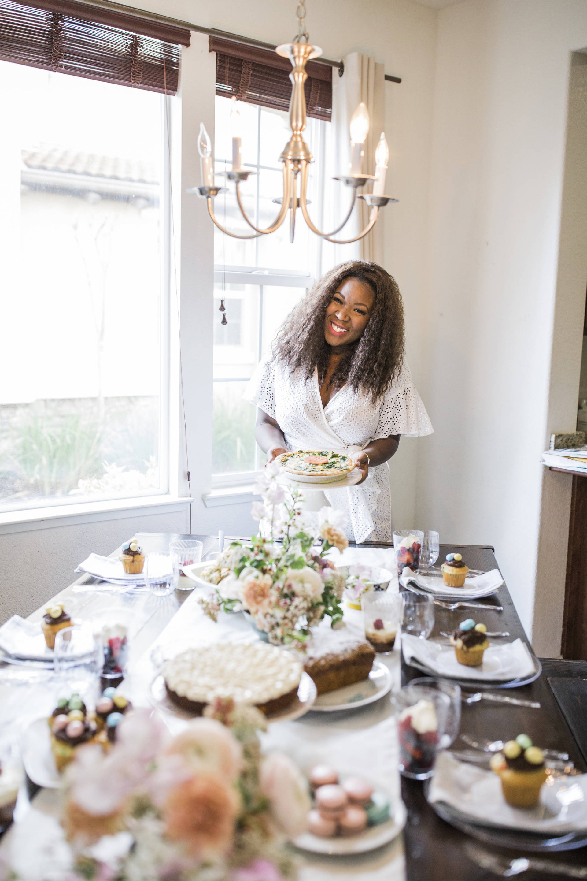 Hosting is always fun but cleaning up after never is! This year I'm so excited that we have tableware byChinet® Cut Crystal® that is going to make cleanup easy!