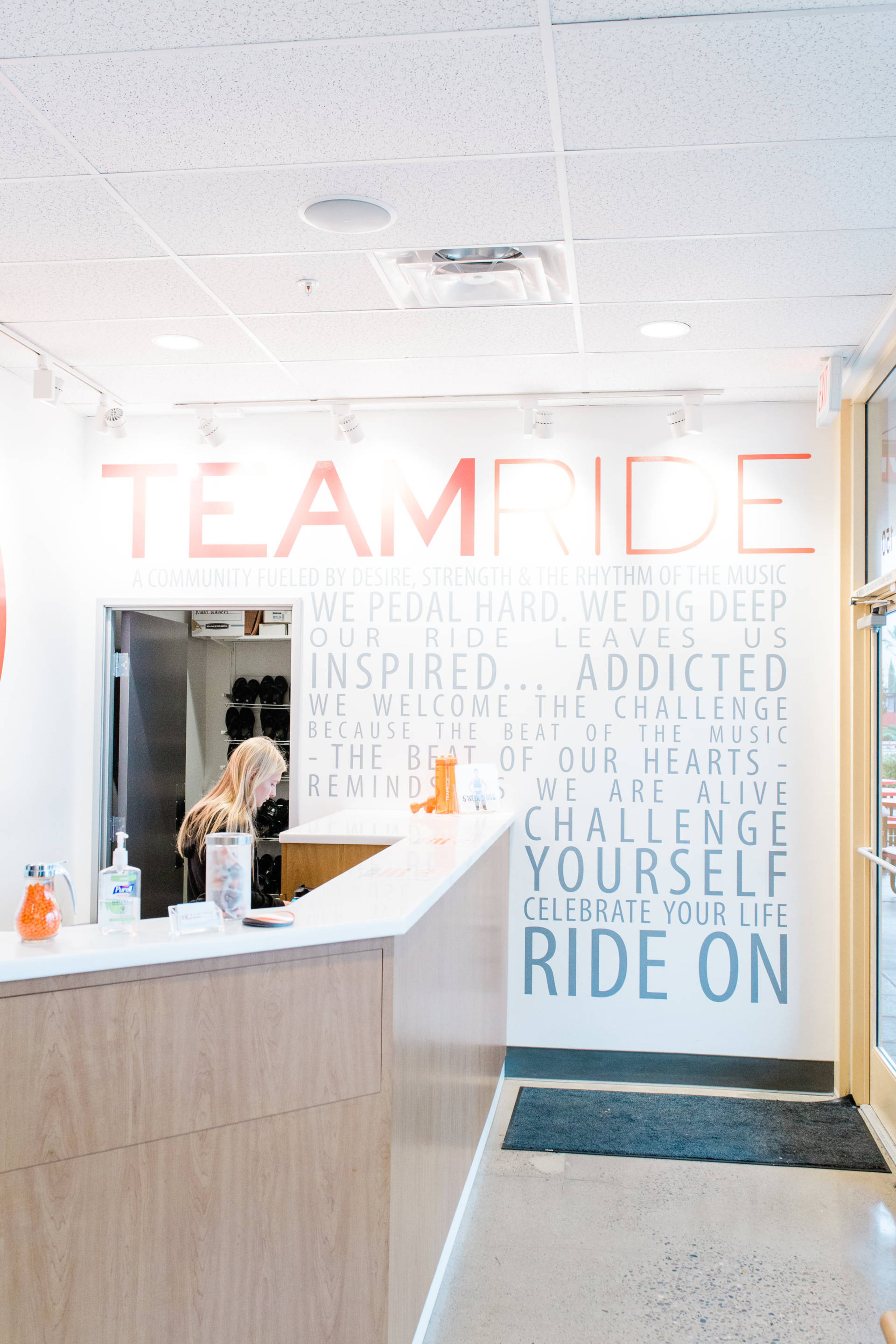 Team Ride Studios: 45 minutes, full body workout