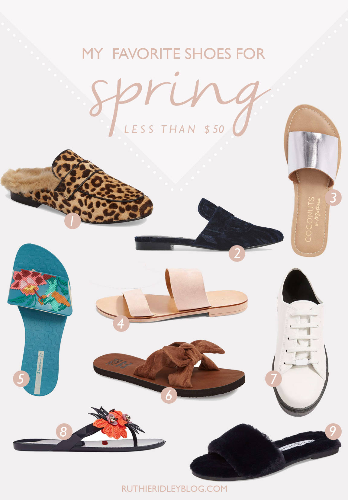 My Favorite Shoes For Spring: Less Than 50.00
