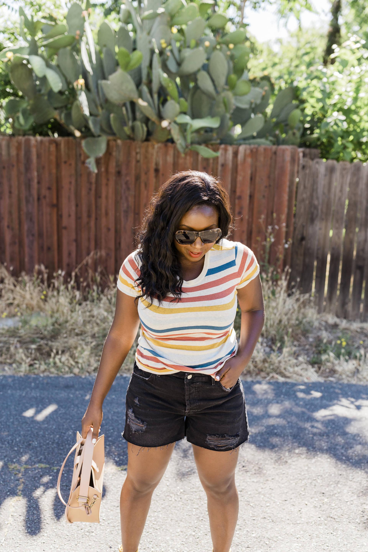 Denim Shorts For Summer: Cute, stylish shorts for summer that won't break the bank!