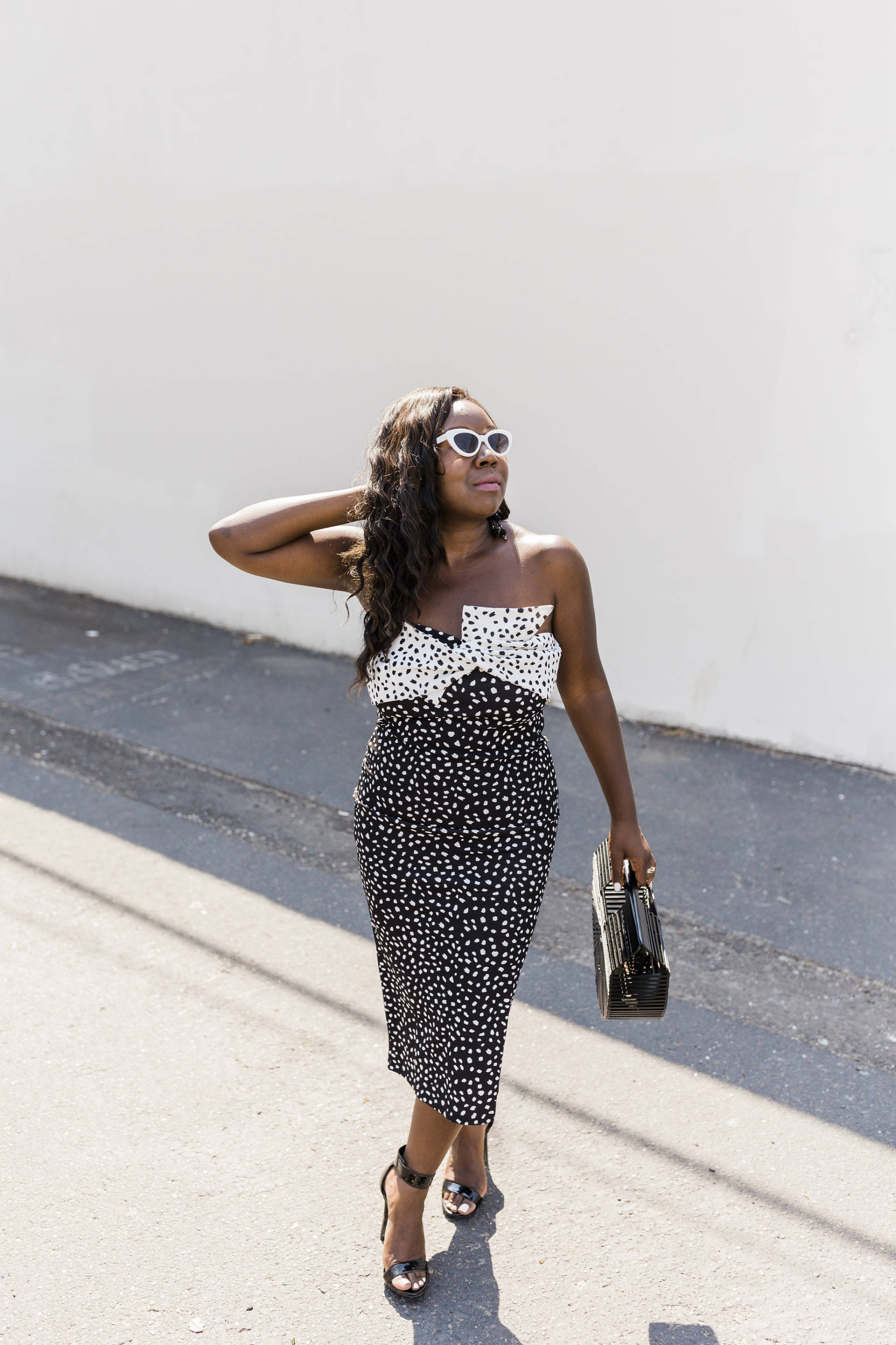 Ruthie Ridley Blog White and Black Polka Dots