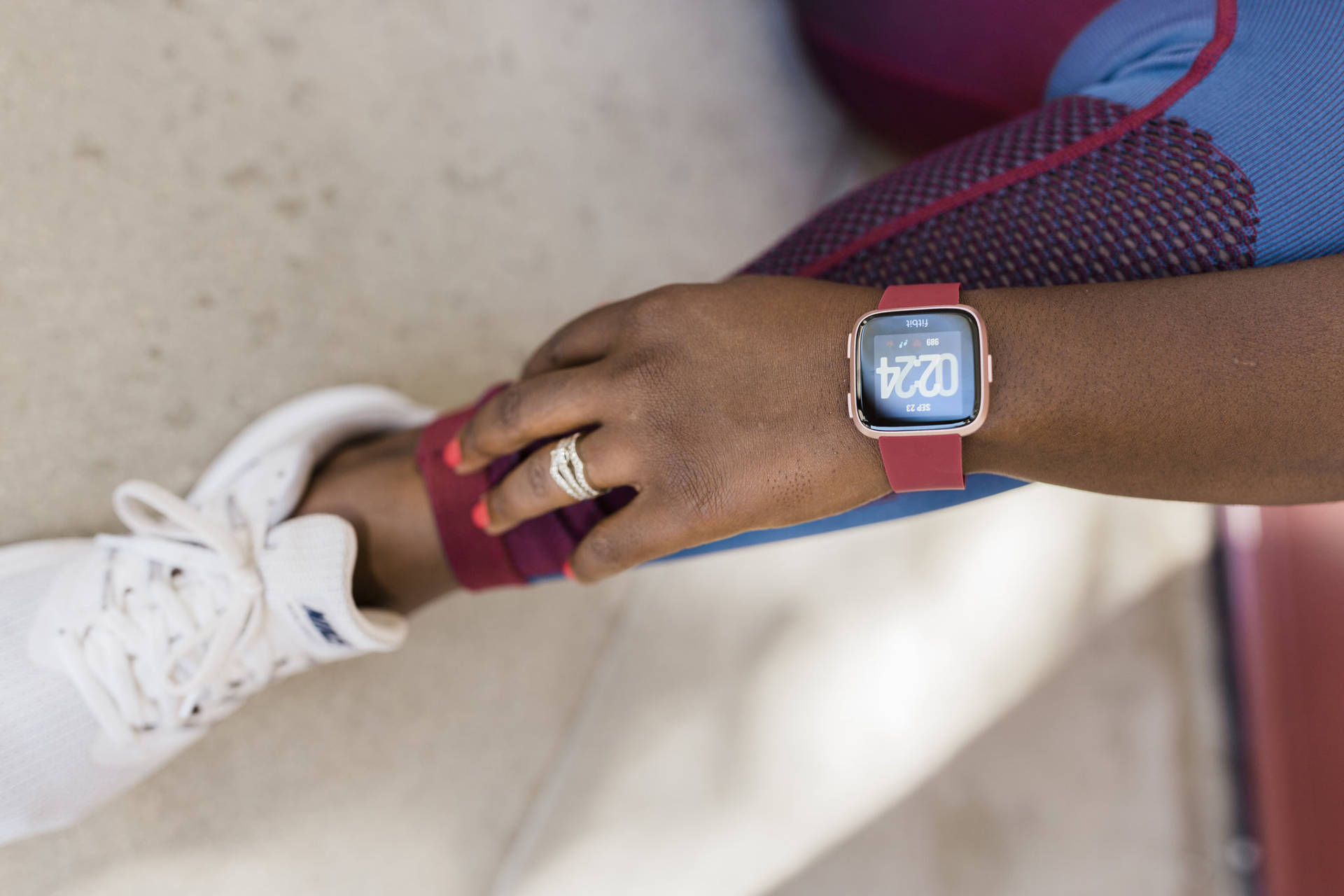 """The Fitbit Versa is described as a """"modern, intuitive smartwatch at an approachable price."""" The price point is the most impressive for me. With the countless features, simplicity and ease of use, everyone should have one of these bad boys! It is the lightest metal smartwatch in the U.S. market."""