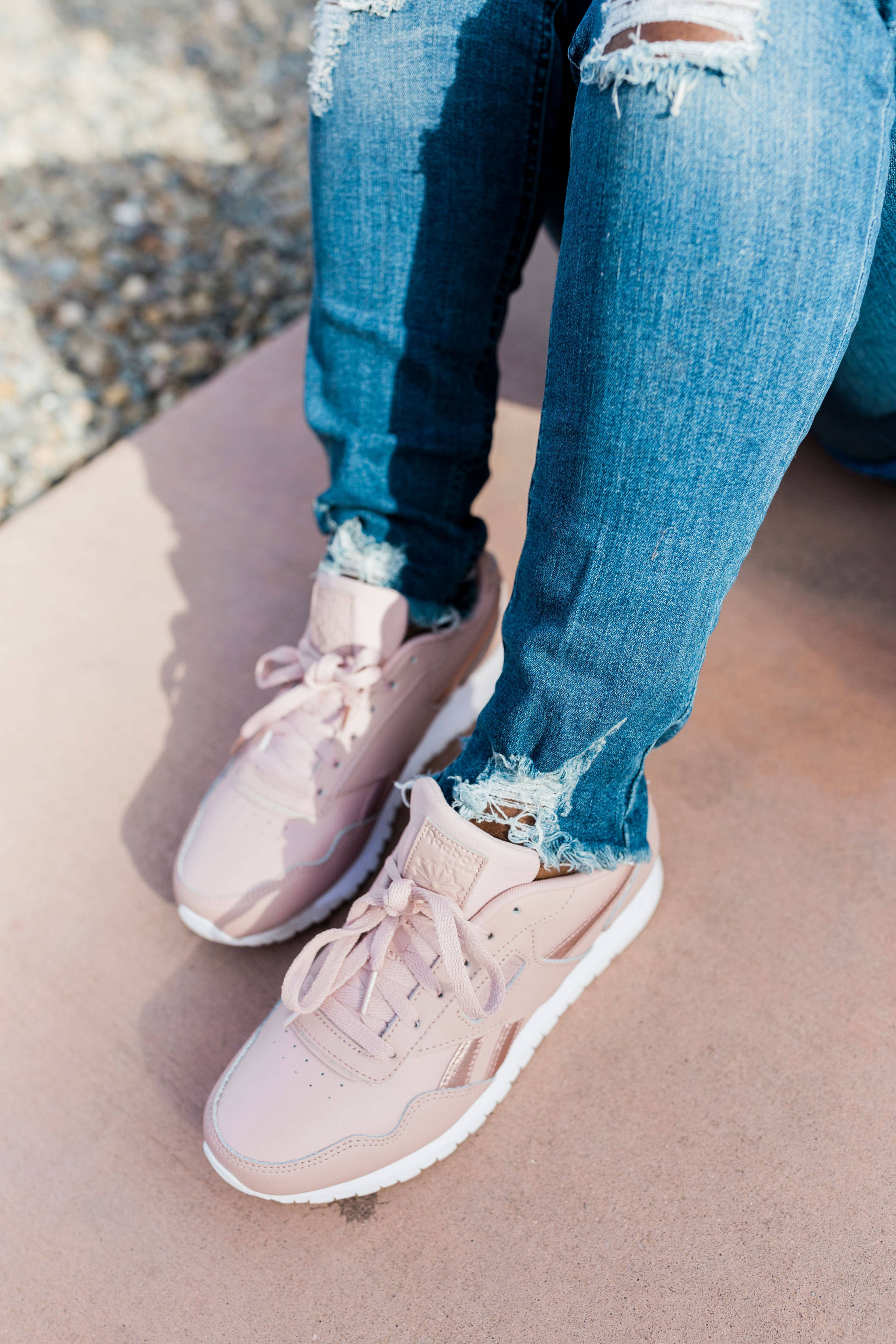 Reebok Classics With Shoe Carnival: They are timeless, classic and can be worn with whatever your heart desires! I am particularly obsessed with how Reebok has managed to continue to surprise me with some of the most amazing color palettes to be found on a sneaker!