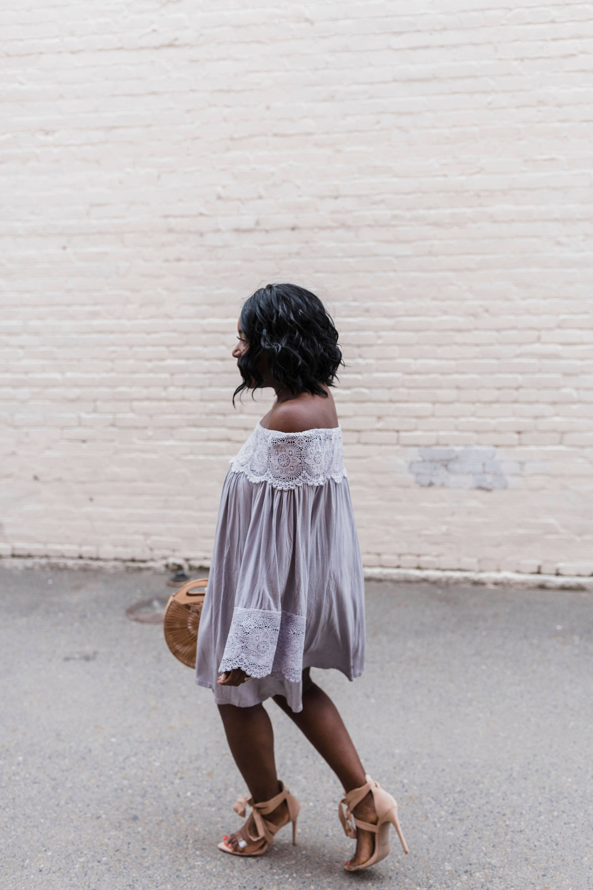 Lost City Lace Off The Shoulder Tunic + Giveaway!