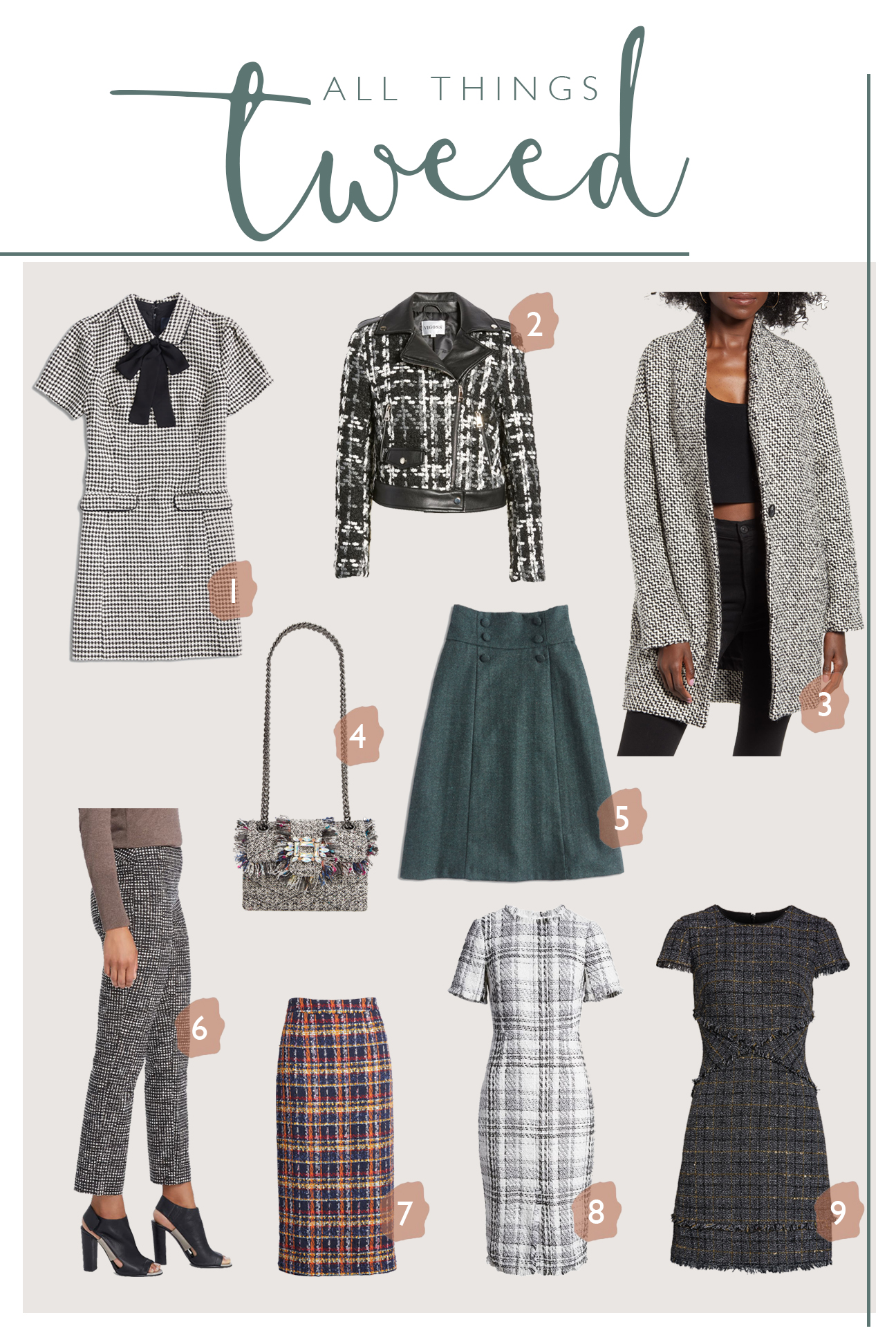 Ruthie Ridley Blog- All things tweed with Nordstrom