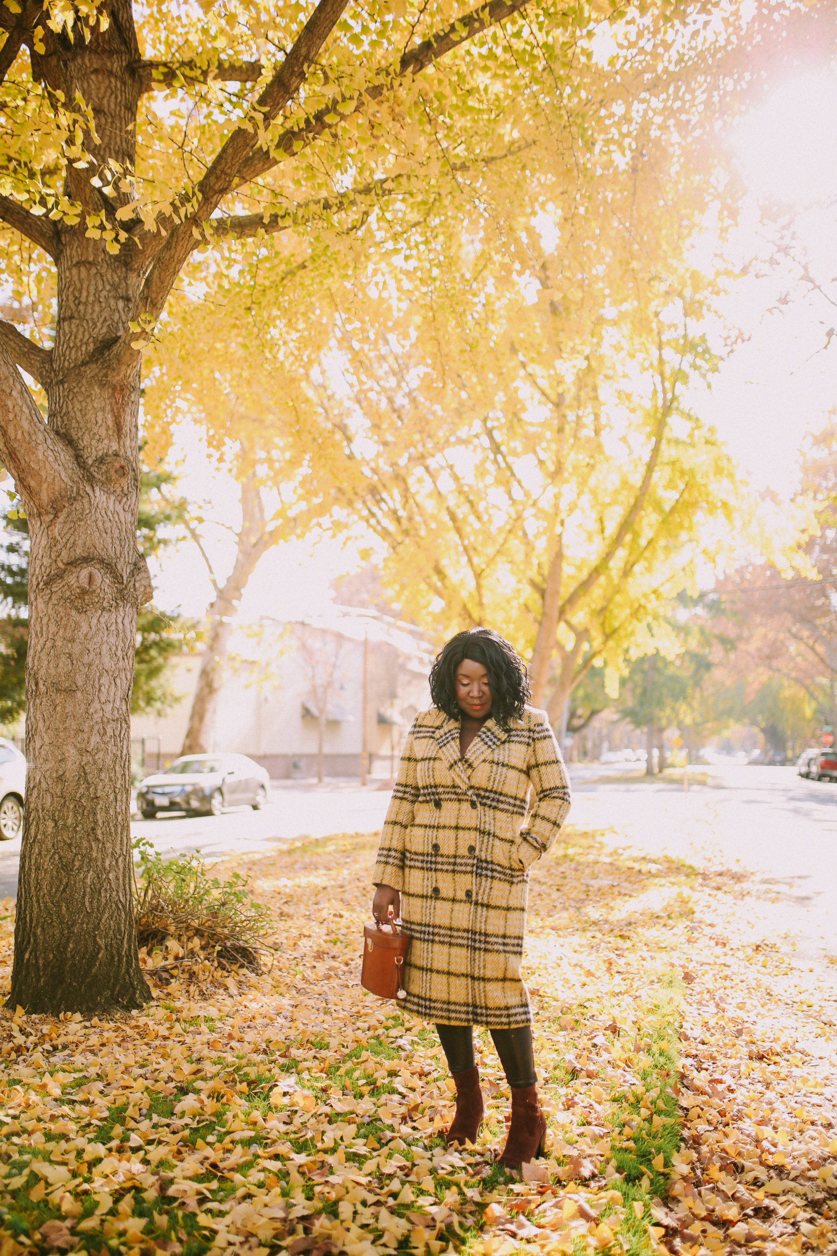 Ruthie Ridley Blog- Plaid Coats For Winter