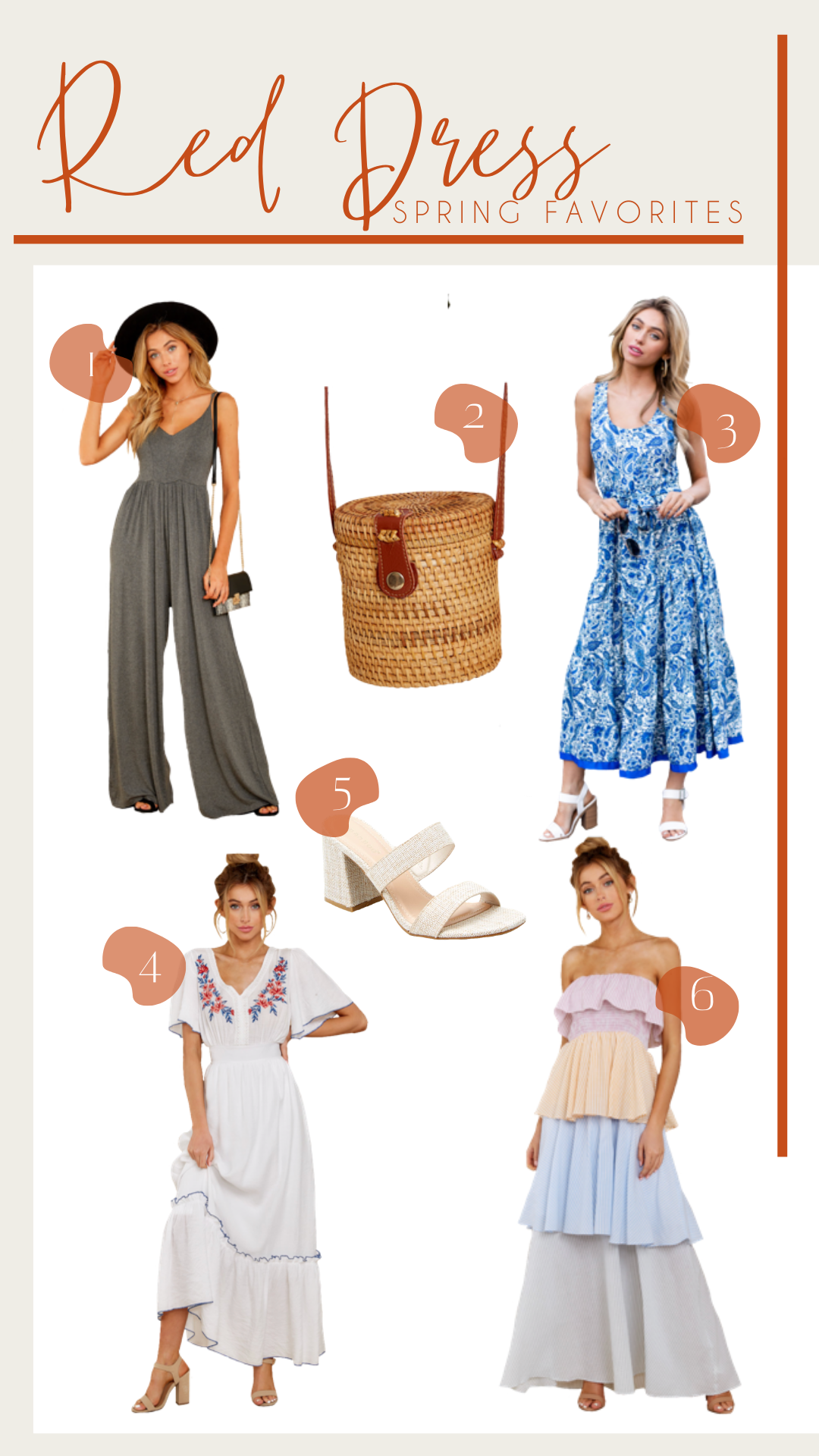 Ruthie Ridley Blog: Spring Favorites With Shop Red Dress