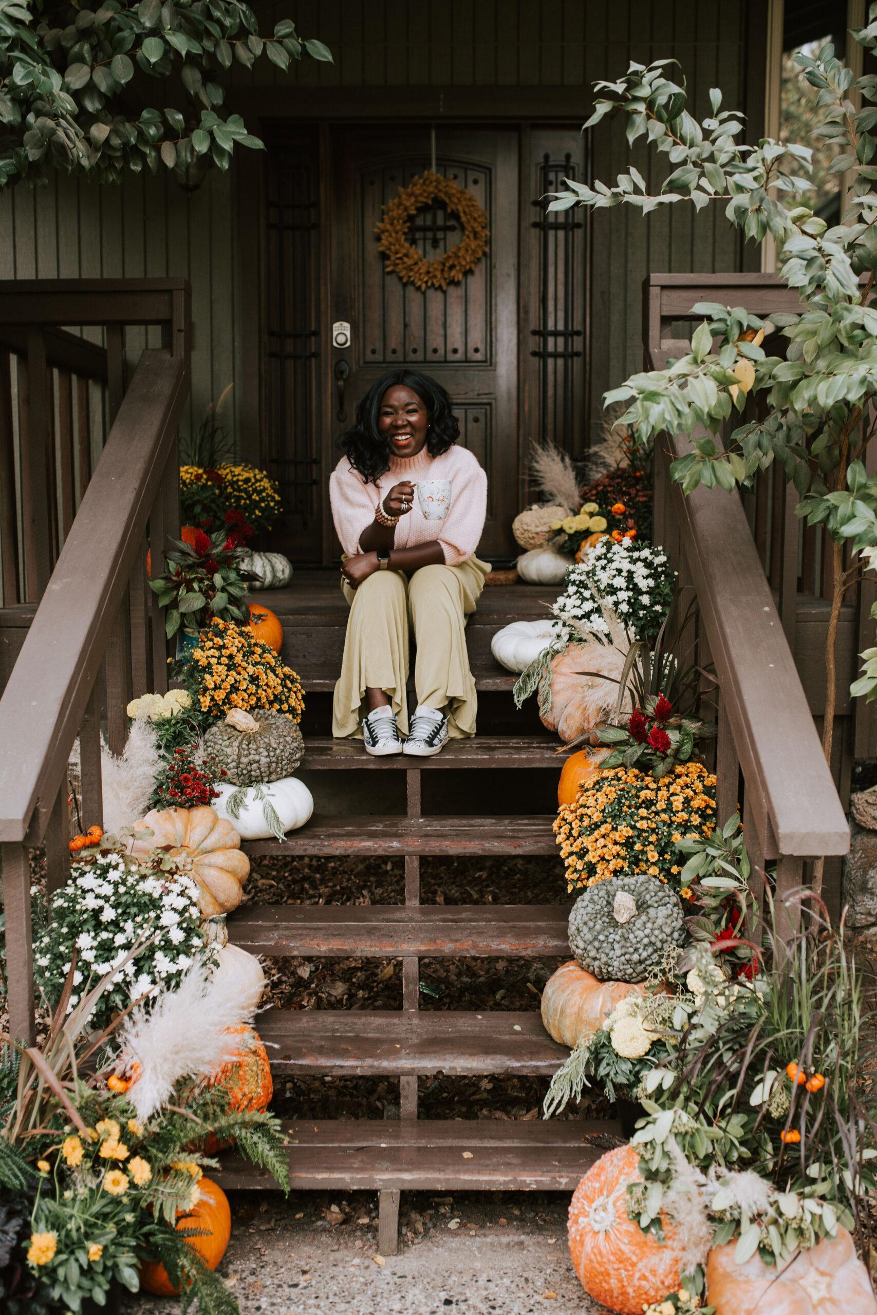 Ruthie Ridley Blog Festive Porch Decor For Fall