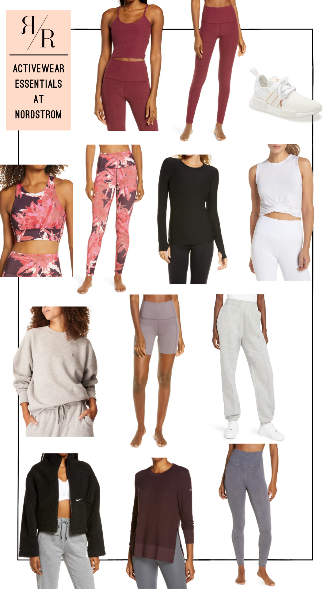 Ruthie Ridley Blog Activewear Essentials From Nordstrom