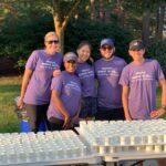 Team volunteering