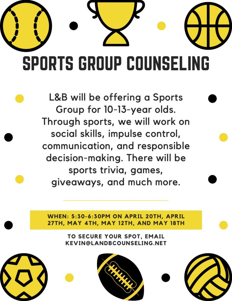 Sports group counseling