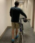 Trent with Bike