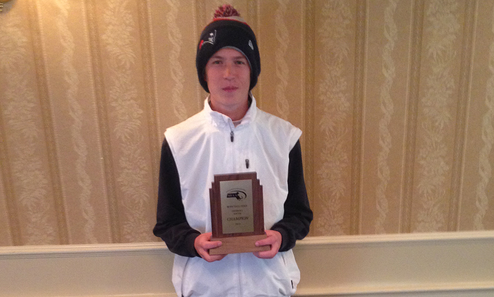 Mansfield's Jason Hindman shot a medalist round of 72 in the Division 1 South Sectionals. (Courtesy Photo)