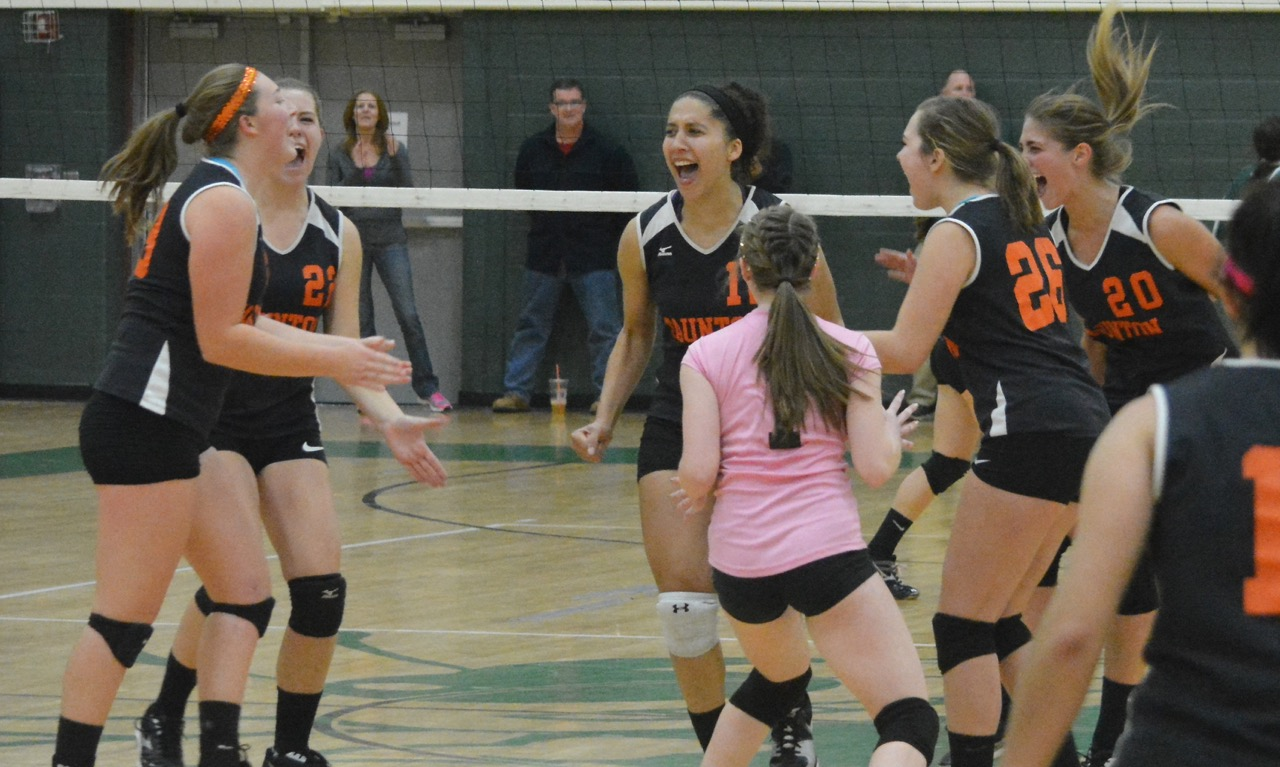Taunton volleyball