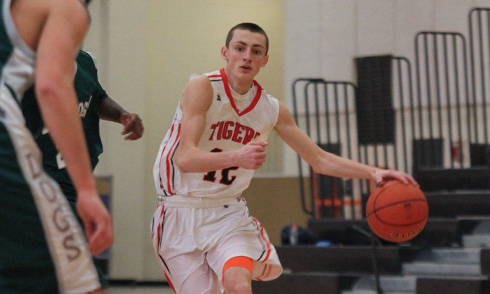Taunton's Tommy MacLean scored a game-high against Foxboro on Monday night. (Tom Madigan/File Photo)