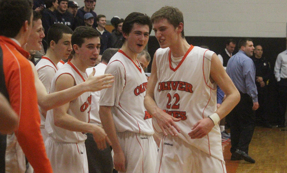 Oliver Ames boys basketball