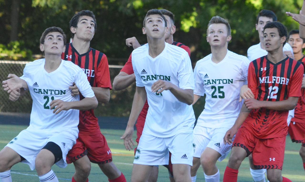 Canton boys soccer